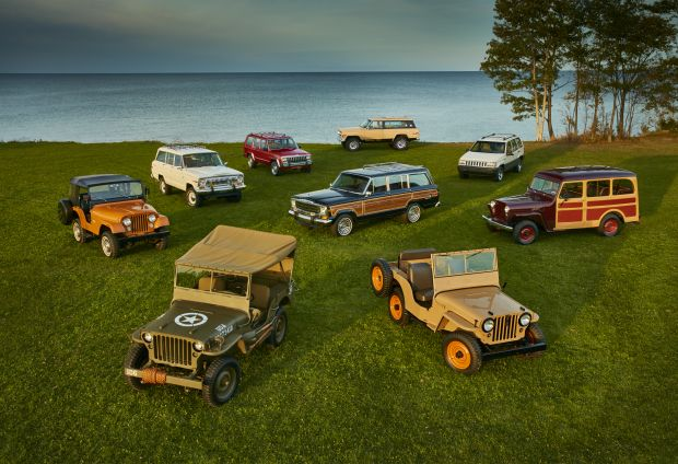 Jeep historical vehicles 1